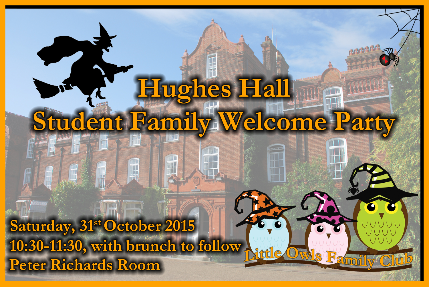 Student Family Welcome Party_31Oct2015