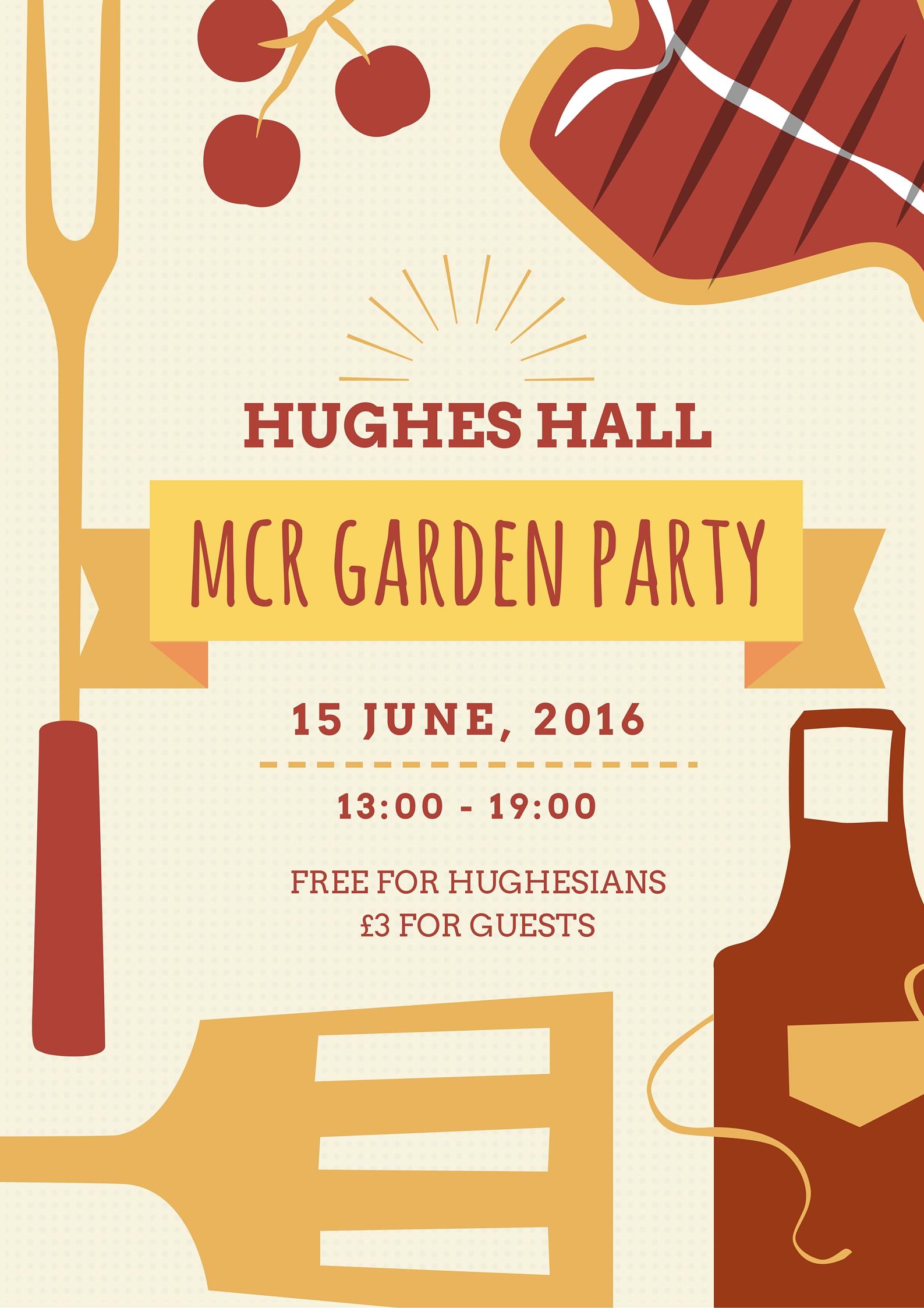 HH Garden Party Poster