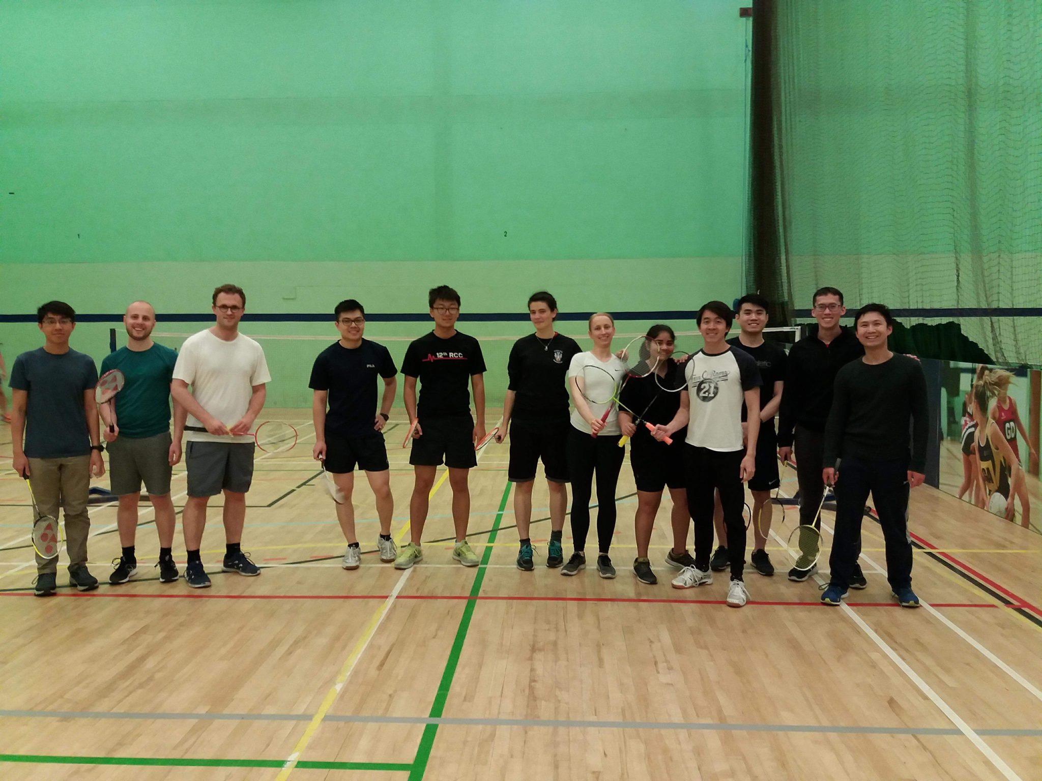 Hughes Badminton